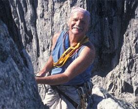Michael Zanger Rock Climbing